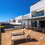 The sun deck at casa Del Mar duplex