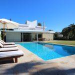 Villa El Vinyet in Sitges - pool area and gardens
