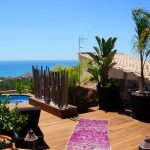 Villa Ibizenca pool and sea view