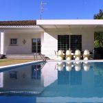 Villa Soler Sitges pool view