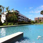 Large communal pool at Penthouse San Francisco