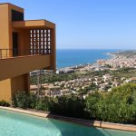 Villa Dumas view of Sitges