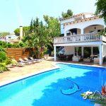 Villa Santiana private pool and terraces