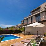 Villa Valentino pool area and gardens