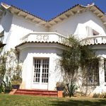 Front shot of Villa del Mar in Sitges