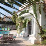 Villa del Mar Sitges pool view and gardens
