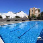 The swimming pool at Casa Martini