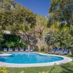 Pool and gardens of Masia Catalina Sitges