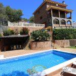 The pool at Villa Del Cel in Las Colinas