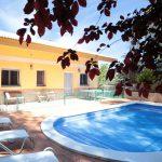Villa Estela pool and terrace view