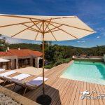 Villa Falco pool area and decking