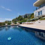 Swimming pool at Villa Gironella